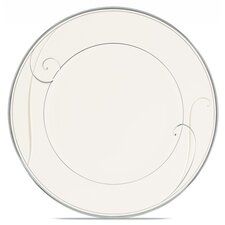"Platinum Wave 8.5"" Salad Plate"