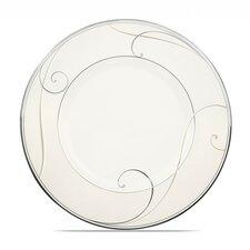 "Platinum Wave 9.5"" Dessert Plate"