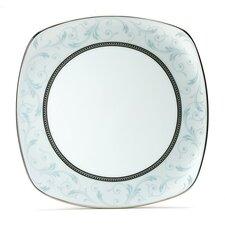 """Regina Platinum 8.75"""" Square Luncheon Plate"""