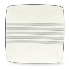 "Aegean Mist 10.25"" Square Large Accent Plate"