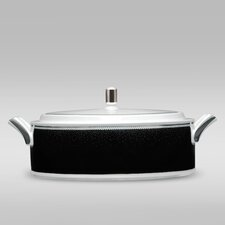 Pearl Noir 67 oz. Covered Vegetable Dish