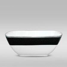 Pearl Noir 30 oz. Medium Square Bowl