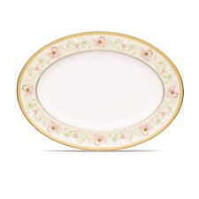 "Blooming Splendor 14.5"" Oval Platter"