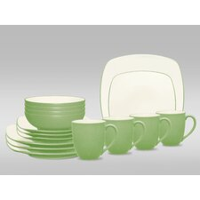 Colorwave 16 Piece Square Place Setting