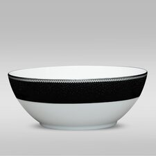 Pearl Noir 70 oz. Large Round Bowl