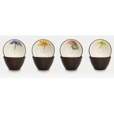 "Colorwave 4"" Floral Mini Bowl (Set of 4)"