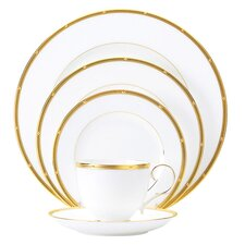 <strong>Noritake</strong> Rochelle Gold 5 Piece Place Setting