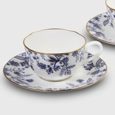<strong>Noritake</strong> Blue Sorrentino 8 oz. Cup and Saucer