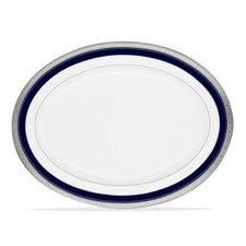 Crestwood Cobalt Platinum Oval Platter