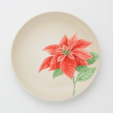 "Colorwave Cream 8.25"" ""Poinsettia"" Salad Plate"