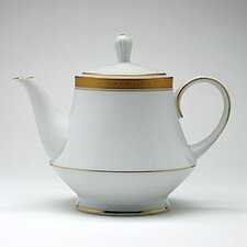 <strong>Noritake</strong> Crestwood Gold 38 oz. Tea Pot