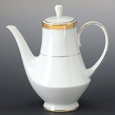 <strong>Noritake</strong> Crestwood Gold 49 oz. Coffee Server