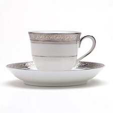 Crestwood Platinum 3 oz. After Dinner Cup and Saucer