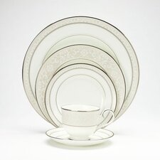Montvale Platinum 20 Piece Dinnerware Set