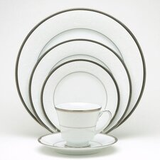 Regina Platinum 5 Piece Place Setting