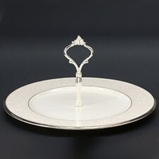 Silver Palace Handled Hostess Round Serving Tray