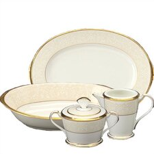 <strong>Noritake</strong> White Palace 5 Piece Completer Set