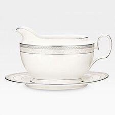 Cirque 18 oz. Gravy Boat with Tray