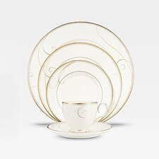 Golden Wave Dinnerware Set