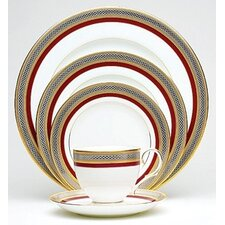 Ruby Coronet 20 Piece Dinnerware Set