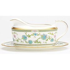 Yoshino 16 oz. Gravy Bowl with Tray