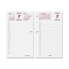 Calendar Refill