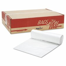 Can Liner Hi-D Rolls, 40 x 48, 250/Carton, Clear