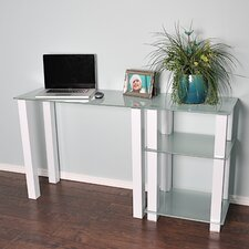White Lines Laptop / Computer Desk