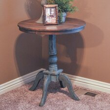Haven Two-toned Wood End Table