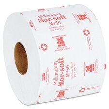 <strong>Morcon Paper</strong> 750 Sheets Two-Ply Morsoft Millennium Bath Tissue