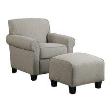 Winnetka Arm Chair & Ottoman Set