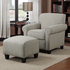 Winnetka Chair and Ottoman