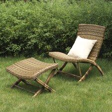 Miki Lounge Chair and Ottoman