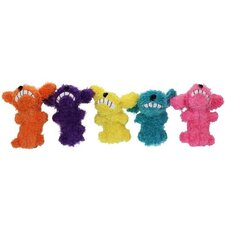 Loofa Dog for Cats Catnip Toy
