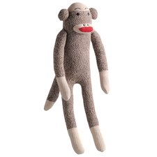 <strong>MultiPet</strong> Sock Monkey Dog Toy