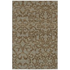Sierra Mar French Quarter Bluestone Area Rug
