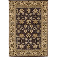 English Manor Stratford Mahogany Area Rug