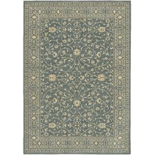 English Manor Somerset Lane Blue Area Rug