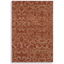 Sierra Mar French Quarter Henna Rug