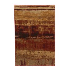 Artois Mericourt Crimson Area Rug