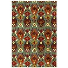 Panache Sagebrush Green Switchback Rug