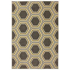 Panache Bungee Cord Honey Queen Brown/Tan Area Rug