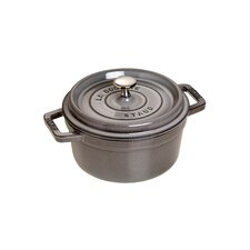 New Classic 10cm Miniature Round Cocotte in Grey
