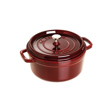 New Classic Round Cocotte in Grenadine Red