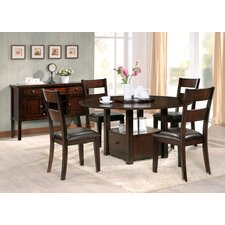 Gibson 5 Piece Extendable Dining Set