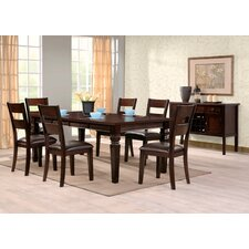 Gibson 7 Piece Extendable Dining Set
