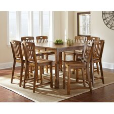 Menton 9 Piece Counter Height Extendable Dining Set