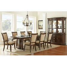 Heather 9 Piece Extendable Dining Set