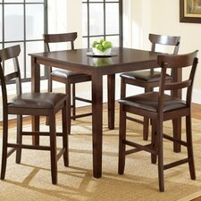 Howard 5 Piece Counter Height Dining Set