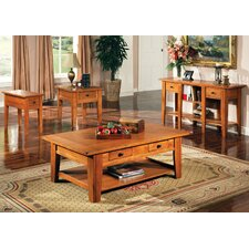 <strong>Steve Silver Furniture</strong> Liberty Coffee Table Set